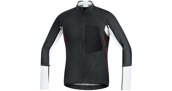 GORE BIKE WEAR ALP-X PRO WS SO Zip-Off Jersey Men black/white